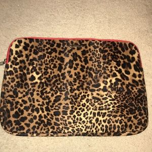 Stella & Dot Cheetah Laptop Case